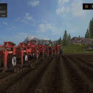 La base de l'implantation d'une culture dans le jeu : le travail du sol.
