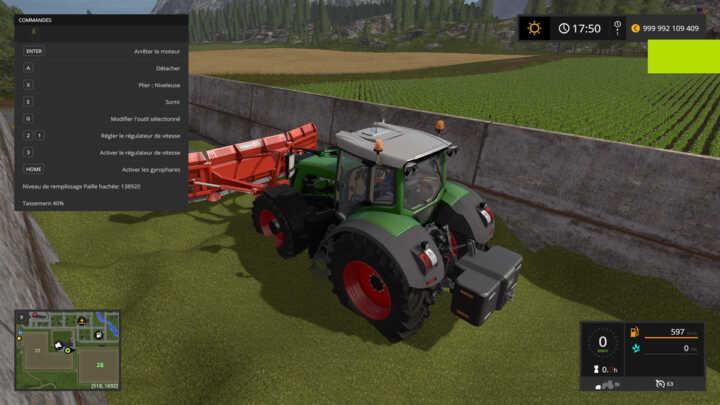 Tasser son maïs dans Farming Simulator 17 est un vrai plaisir, on s'y croirait !