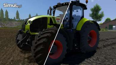Photo of Claas Axion selon le moteur graphique