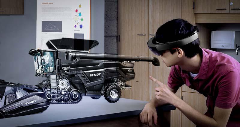 Y aura-t-il une compatibilité future avec le casque de Microsoft ? Le premier pas est fait. A suivre.