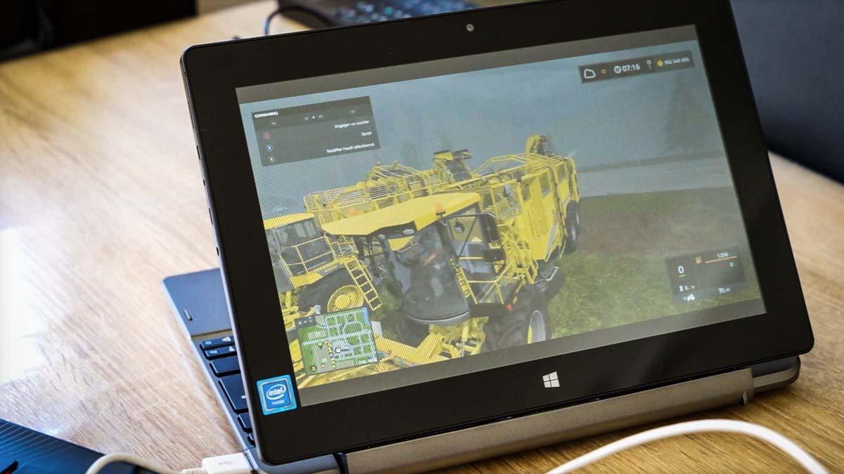 farming simulator et les autres sur une tablette 190. Black Bedroom Furniture Sets. Home Design Ideas