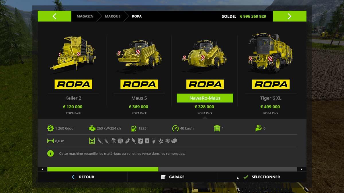 Le DLC Ropa Farming Simulator 17 à l'heure du test