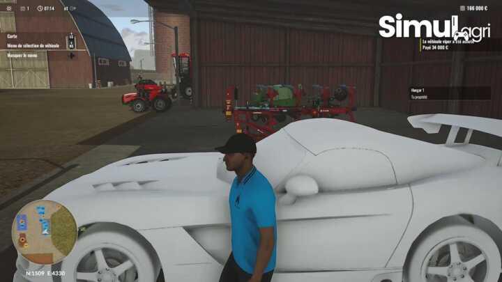 En moins d'une minute, le véhicule est disponible dans le jeu. Il ne reste plus qu'à placer les textures. Je fournirai très bientôt ce mod ainsi qu'une AC Cobra...