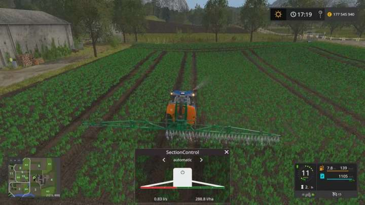 l 39 agriculture de pr cision via les mods de farming simulator 17. Black Bedroom Furniture Sets. Home Design Ideas
