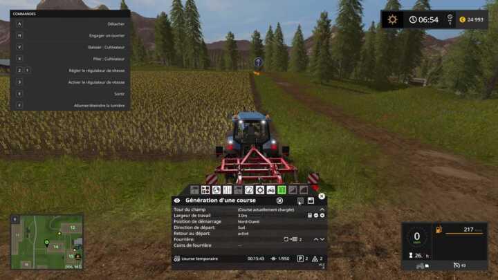 Le mod CoursePlay 5, s'il ne fonctionne pas sur tous les véhicules, apporte toutefois des capacités étendues pour vos ouvriers.