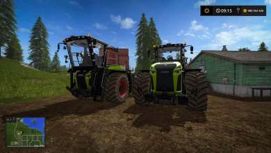 Photo of Les Claas Xerion font peau neuve sur Farming Simulator 17