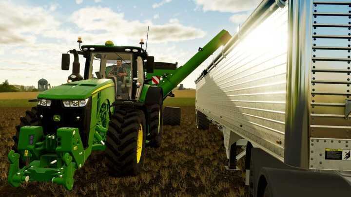 Il n'y a pas que le tracteur qui est signé John Deere. Le full-liner y présentera toute sa gamme.