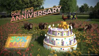 Photo of Joyeux anniversaire Cattle and Crops : 30% de réduction pour l'occasion