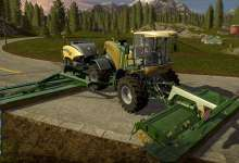 Photo de La Krone Big M 500 revient sur Farming Simulator 17