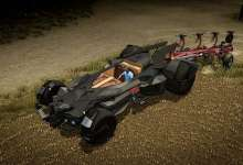 Photo de Une Batmobile dans Pure Farming en guise de tracteur ?