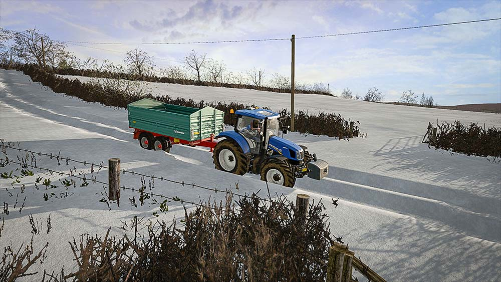 De la neige dans Farming ?
