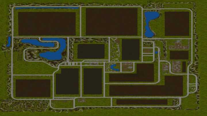 """Le moddeur n'est pas des plus créatifs avec une map assez """"carré"""""""