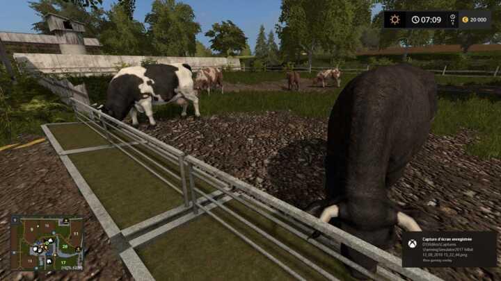 L'élevage n'est pas en reste, et tous les animaux sont regroupés autour de l'exploitation.