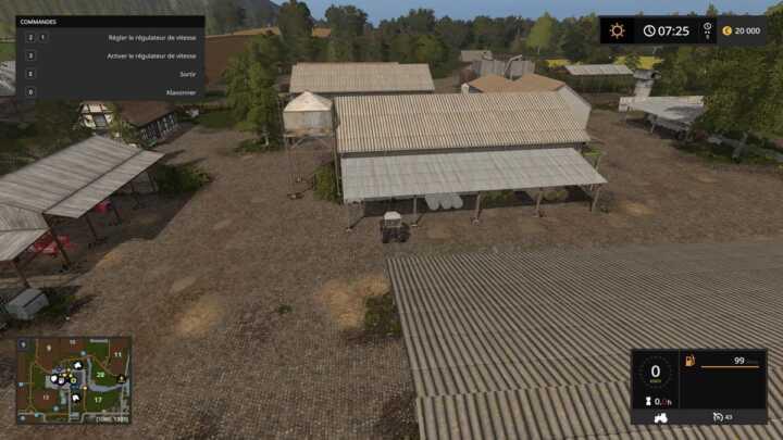 Des hangars suffisamment nombreux pour y placer tout votre matériel.