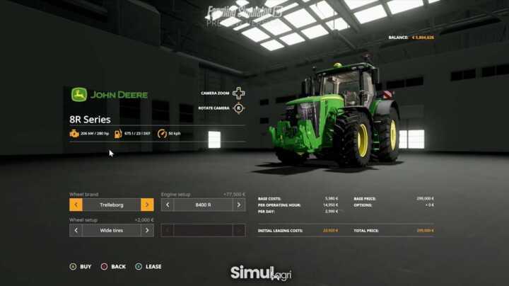 La nouvelle interface de configuration du matériel lors de l'achat.