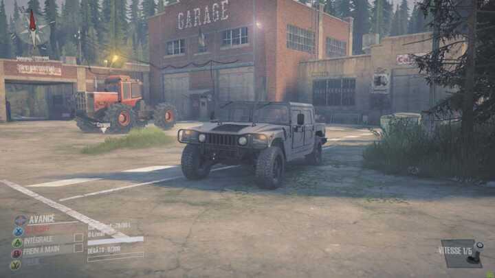 La Hummer H1.