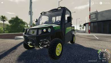 Photo of Farming Simulator 19 : Le John Deere Gator du pack Collector se montre