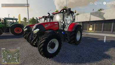 Photo de Le Case IH Maxxum de Farming Simulator 19 revisité par Lucasz IH Modding