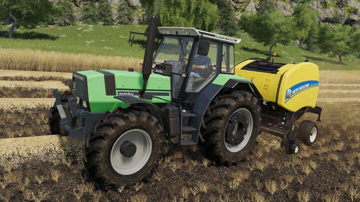 Le Deutz AgroStar 66, un classique qui manquait à l'appel lors de la sortie du jeu hier.