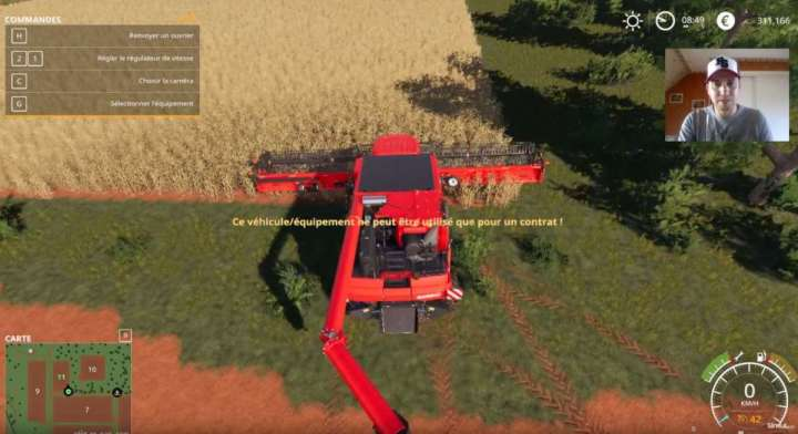Vous ne pourrez que truander le mode mission pour les tracteurs. Les autres outils vous bloqueront si vous essayez de contourner leurs usages.