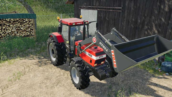 Oublié de la version finale, le Case IH 1455 XL sera rapidement disponible dans le modhub.