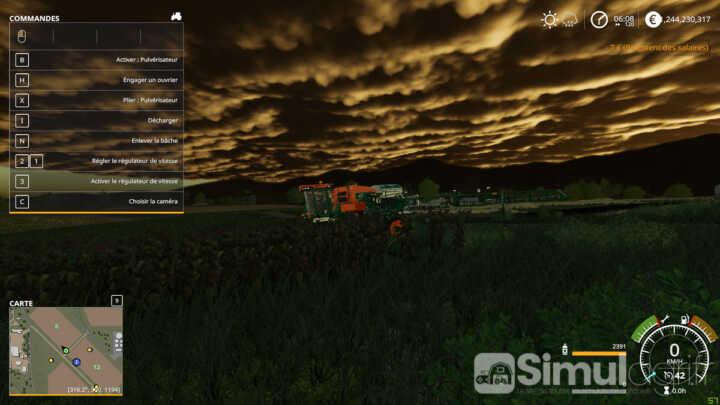Le Giants Engine 8 est capable de créer des ambiances totalement nouvelles.