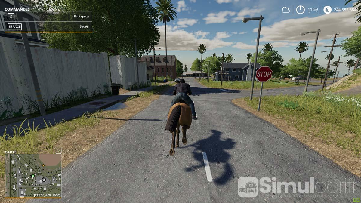 Non, vous n'êtes pas dans Red Dead Redemption 2, mais bien dans Farming Simulator 19.