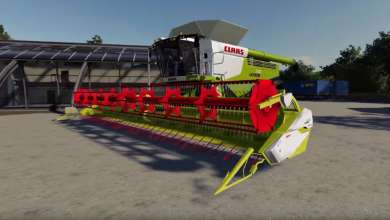 Photo de La moissonneuse Claas Lexion 780 se convertit à Farming Simulator 19