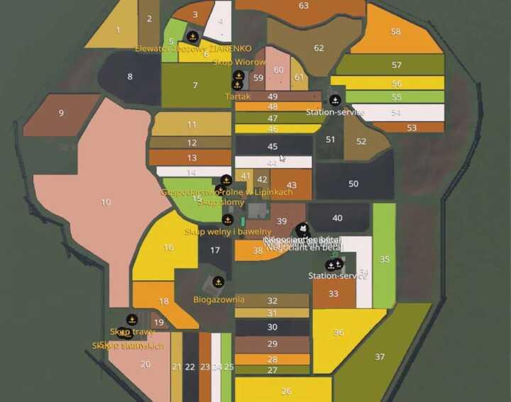 La découpe des parcelles est intéressante et tranche avec les grands champs de Ravenport ou Felsbrunn.