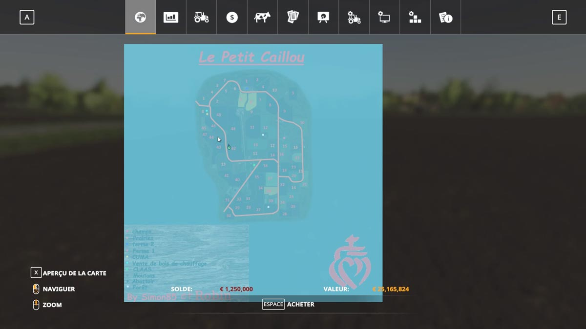 Farming Simulator 19 : Map française
