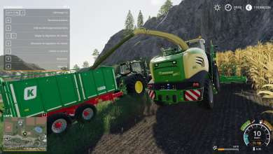 Photo of La Krone Big X 580 pour Farming Simulator 19 étoffe l'offre ensileuse