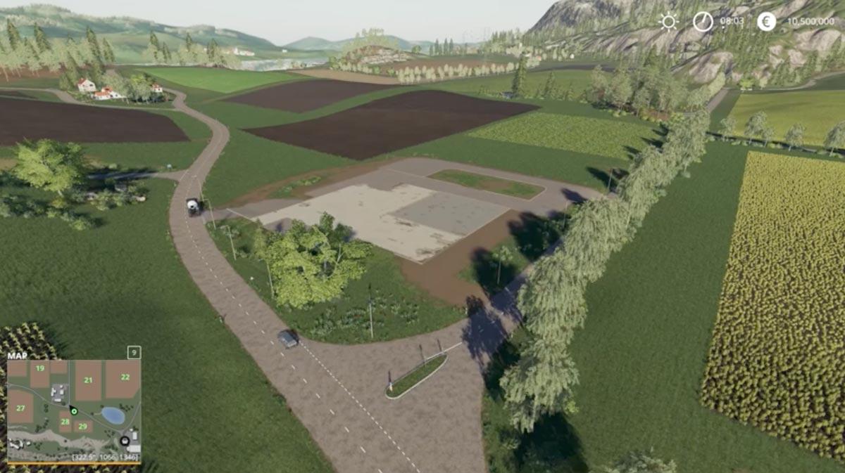 un patch farming simulator 19 pour cr er ses maps dans le. Black Bedroom Furniture Sets. Home Design Ideas