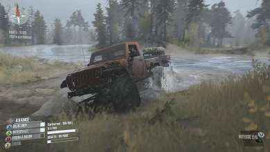 Photo of Une Jeep JK haut perchée pour Spintires MudRunner