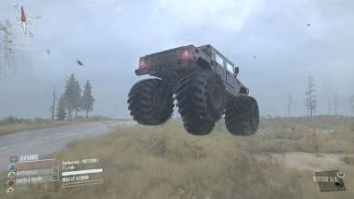 Photo of Hummer H1 Monster Truck : Spintires MudRunner en mode voltige !