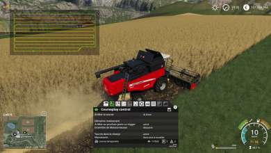 Photo of Le CoursePlay 6 pour Farming Simulator 19 est en beta (update)