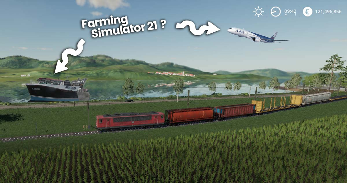 Le prochain Farming verra-t-il l'arrivée d'avions et de bateaux ?
