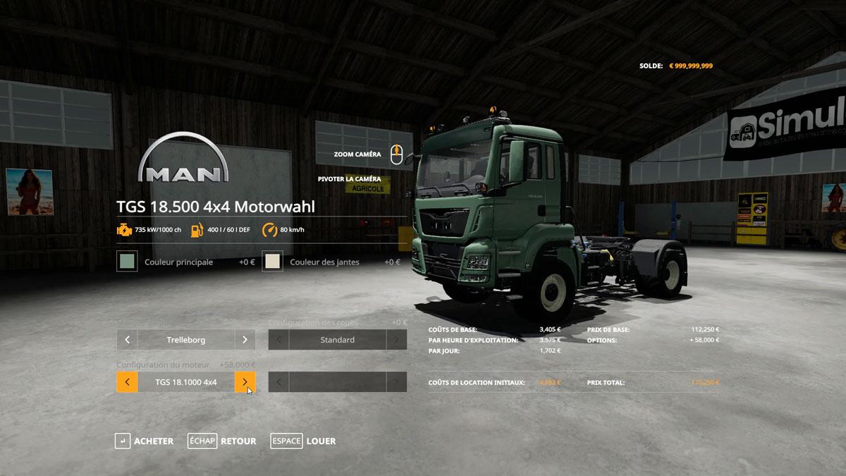 le man tgs 18 500 de farming simulator 19 pouss u00e9  u00e0 1000 cv