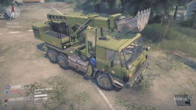 Photo of Tatra 815 VVN20 : le couteau Suisse de Spintires MudRunner