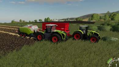 Photo de Les Claas Axion et Xerion se convertissent à FS 19