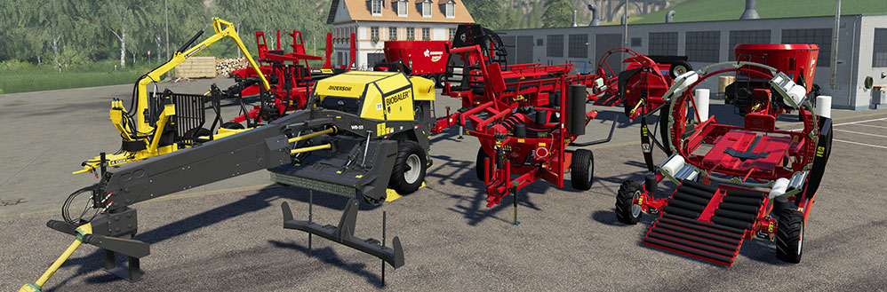 The first paid DLC Anderson for FS 19 arrives in March