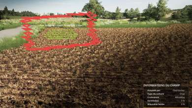 Photo de Field Data to learn all about his parcels on Farming Simulator 19
