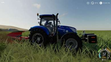 Photo of Le New Holland T6 de Farming Simulator 19 revisité en version Blue Power