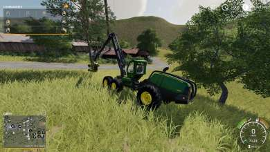 Photo of John Deere revient en forestier sur Farming Simulator 19