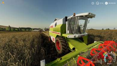 Photo of VertexDezign convertit sa Claas Mega sur Farming Simulator 19