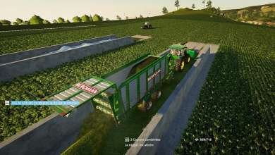 Photo de CoursePlay FS19 Tuto #10 : On fauche et tasse le silo d'herbe