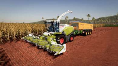Photo of Sur FS 19, la Claas Jaguar 800 récolte tout
