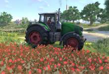 Photo de Du Fendt dans l'update 0.998 de Farmer's Dynasty ?