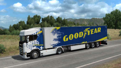 Photo de Un pack de pneus Goodyear et un contest pour Euro Truck Simulator 2