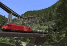Photo of Le nouvel add-on de Train Simulator 19 traverse les alpes