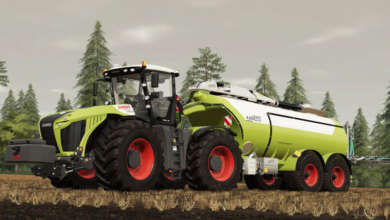 Photo of La tonne Kaweco SCH, compagnon de votre Claas Xerion